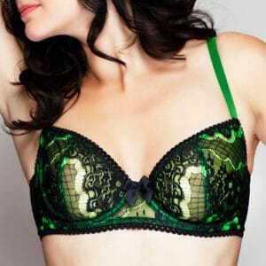 Claudette En Dentelle Intense Demi Bra