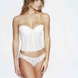 Dominique Hannah Longline Bridal Push Up Bra 7759