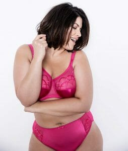 Elomi Cate Underwire Full Cup Banded Bra el4030 at Belle Lacet Lingerie.