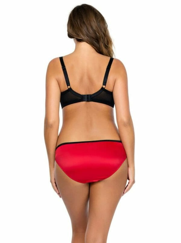 Parfait Charlotte Bikini Panty in Red. Style #6905