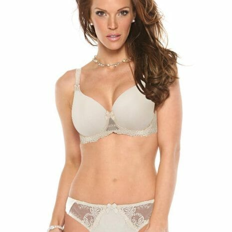 Fit Fully Yours Elizabeth Smooth Lace Underwire Bra B1032Set