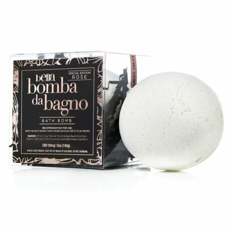 Bella Bomba Da Bagno Rose Bath Bomb (CBD) at Belle Lacet Lingerie in Chandler-Phoenix.
