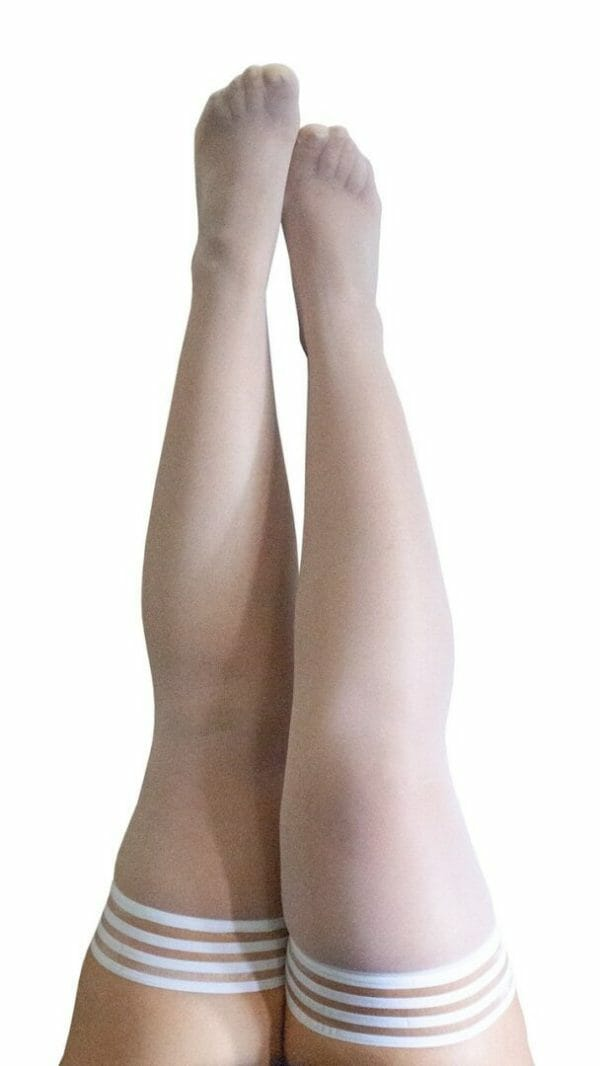 Kix'ies Ashley Thigh-High Stockings 1326 at Belle Lacet Lingerie