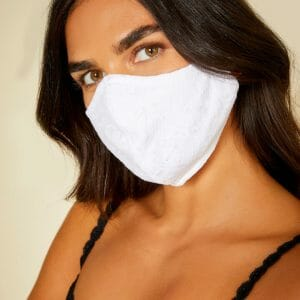 Never Say Never V Face Mask NSN9923 at Belle Lacet Lingerie.