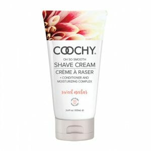 Coochy Shave Cream 3.4oz - Sweet Nectar at Belle Lacet Lingerie.