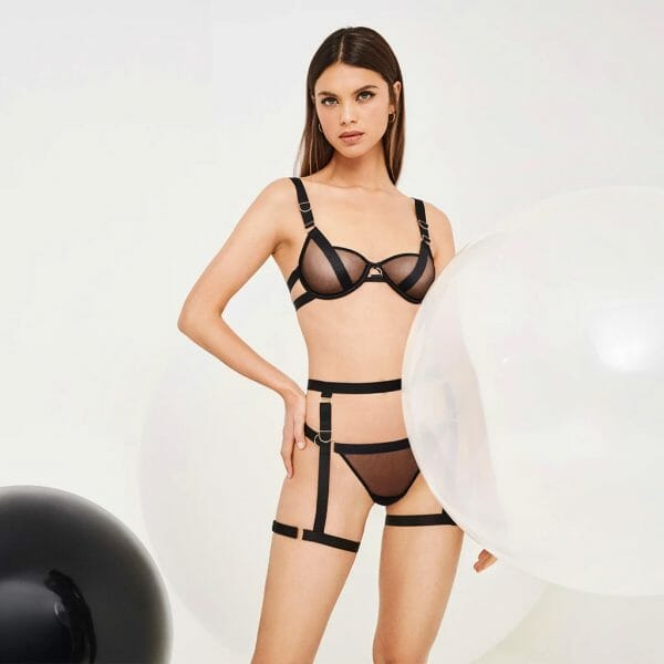 Thea Bra by Bluebella at Belle Lacet Lingerie.
