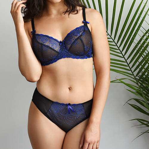 Nicole See-Thru Underwire Bra from fit Fully Yours at Belle Lacet Lingerie