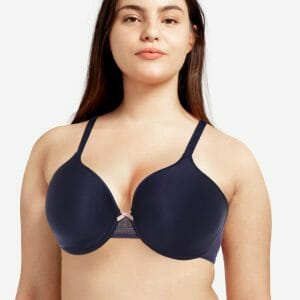 C Ideal Full Coverage Plunge T-Shirt Bra by Chantelle at Belle Lacet Lingerie
