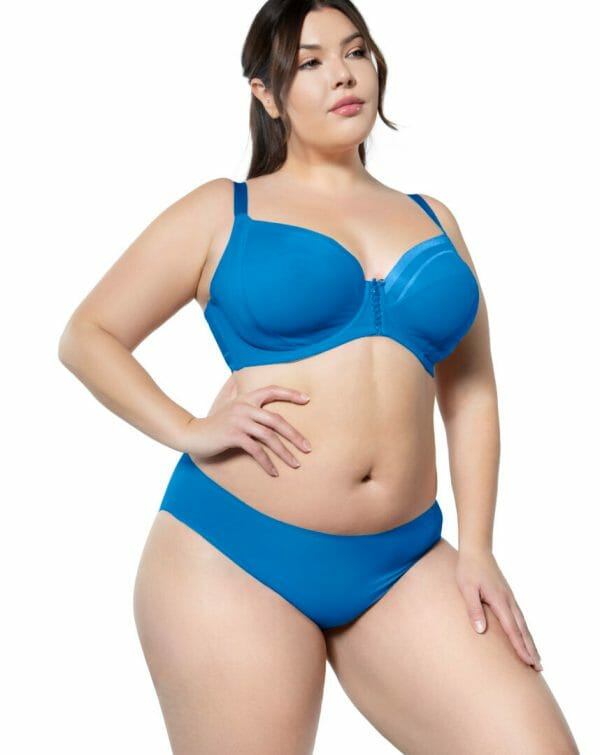 Bonded Hipster Panty by Parfait in Nautical Blue at Belle Lacet Lingerie