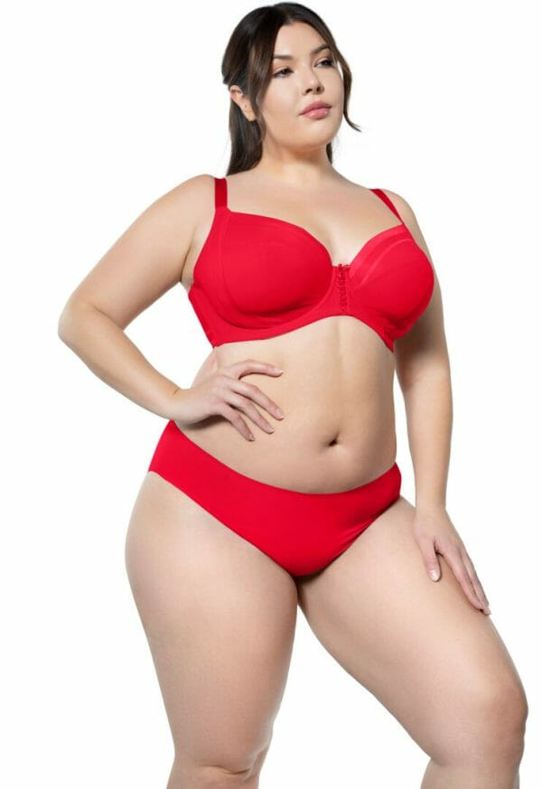 Bonded Hipster Panty by Parfait in Racing Red at Belle Lacet Lingerie