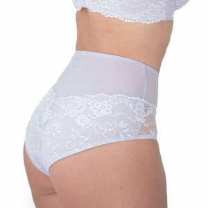 SERENA Lace Brief in Light Lilac at Belle Lacet Lingerie.