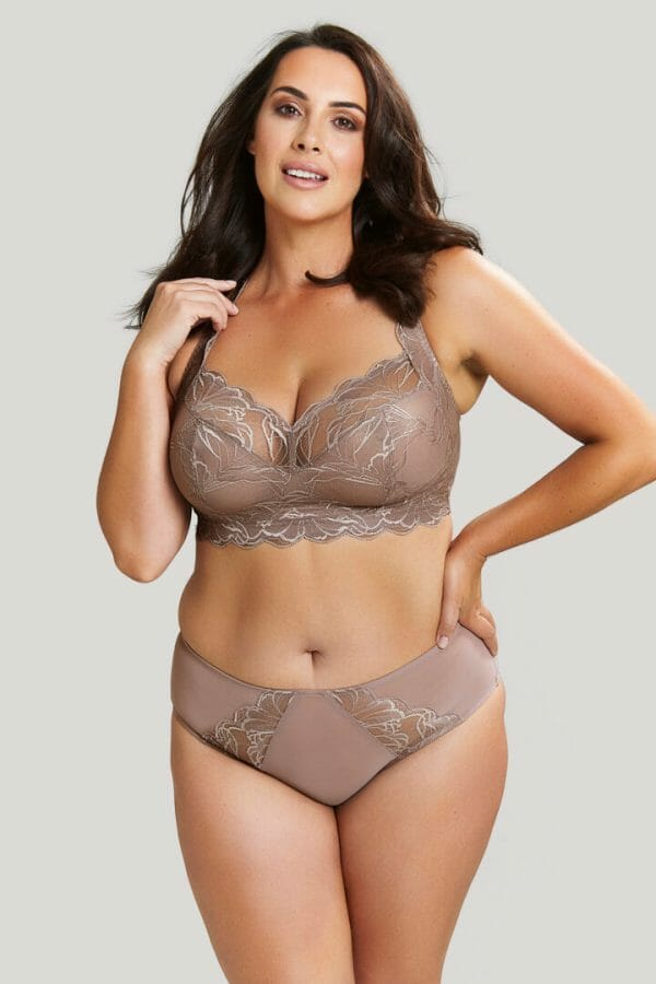 The Embrace High Apex Wireless Bralette by Sculptresse by Panache at Belle Lacet Lingerie