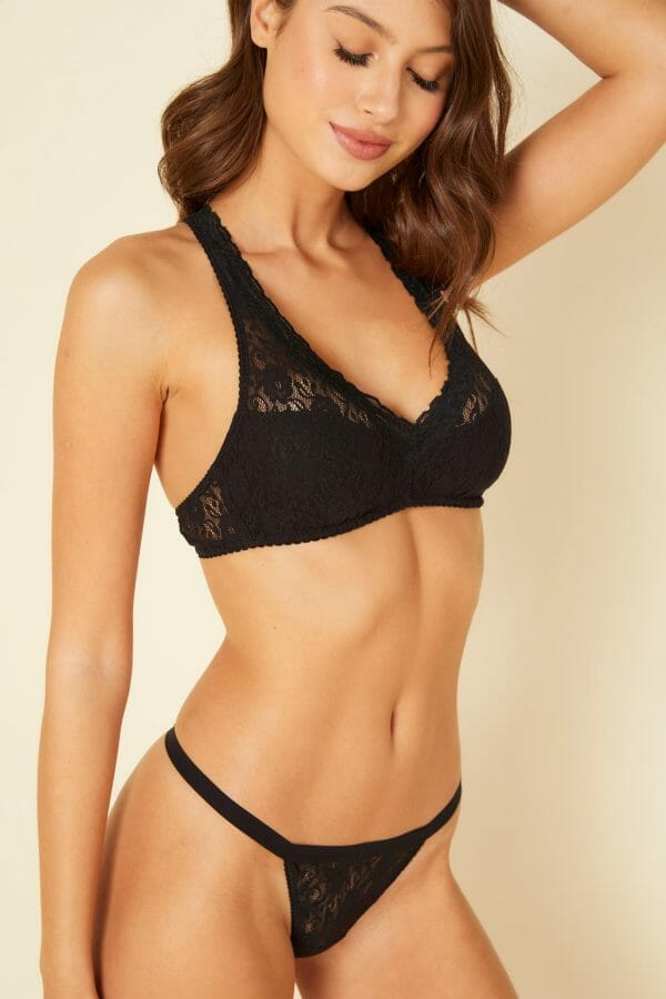 Cosabella Amore Adore G-String at Belle Lacet Lingerie.