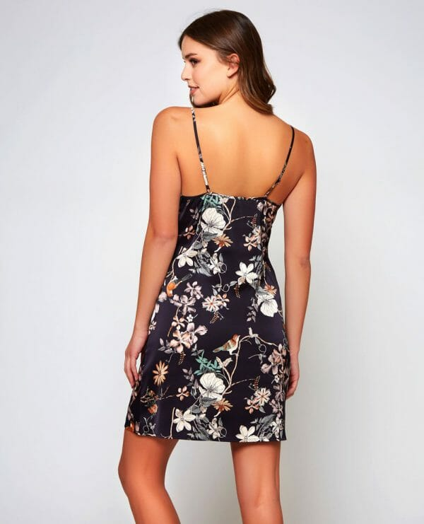 AMELIA Floral Chemise by iCollection at Belle Lacet Lingerie